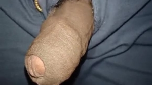 Hot tranny cock sucking monster in action