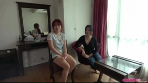 Young teens in thai threesome