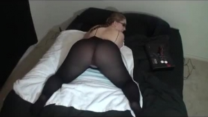 Teen boys in threesome stuff bed in hot action