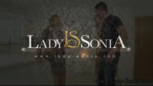 Lady Sonia gets lead and spanked